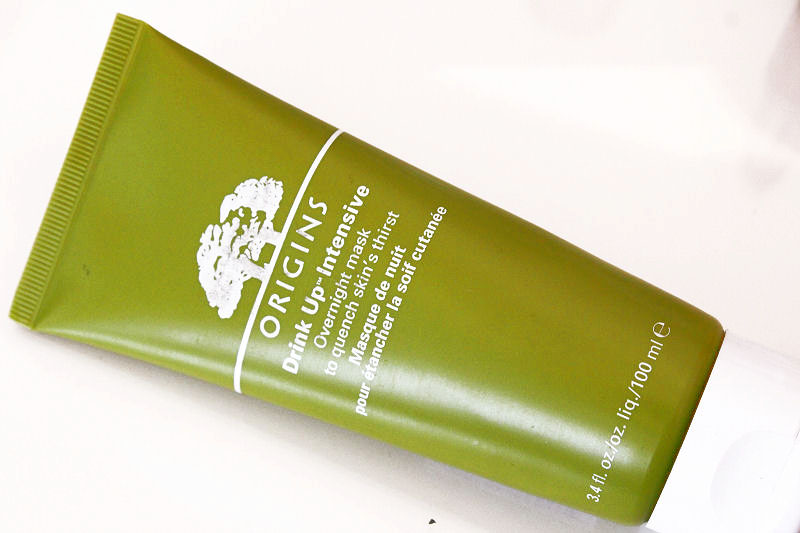 January Favourites  Origins Drink Up Face mask