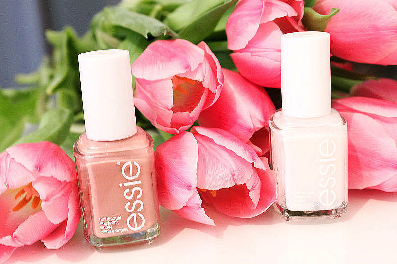 Essie Allure and Eternal Optimist Nail Polish