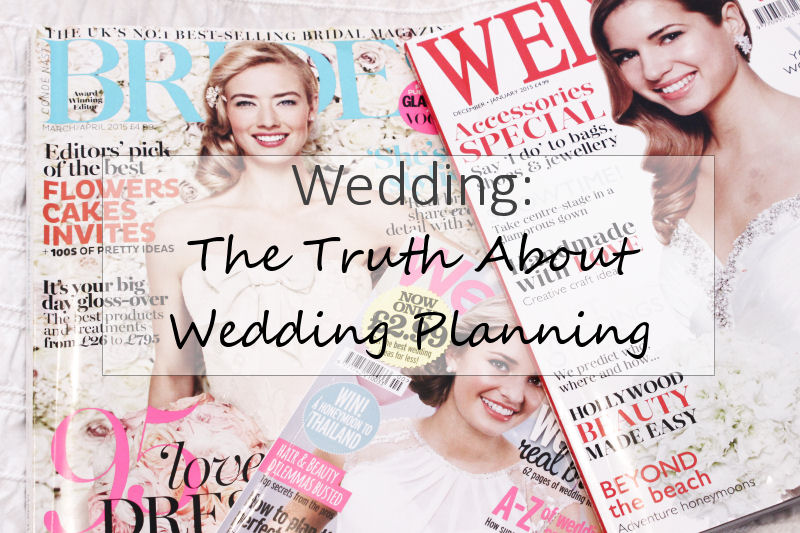 10 Truths About Wedding Planning