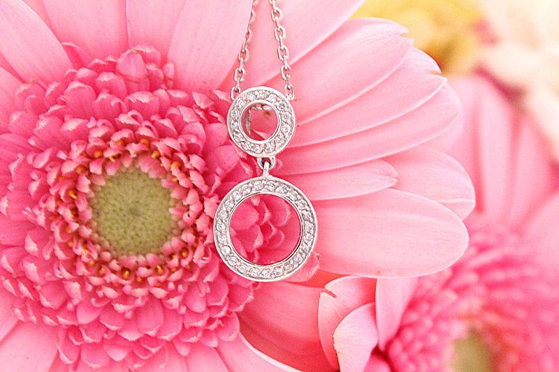 Jewel Street Drop Pendant Necklace