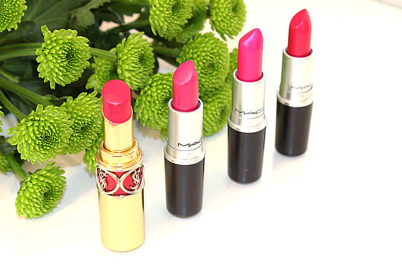 Favourite bright Pink lipsticks