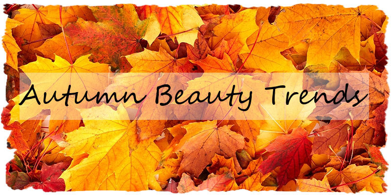 Autumn hair and beauty trends