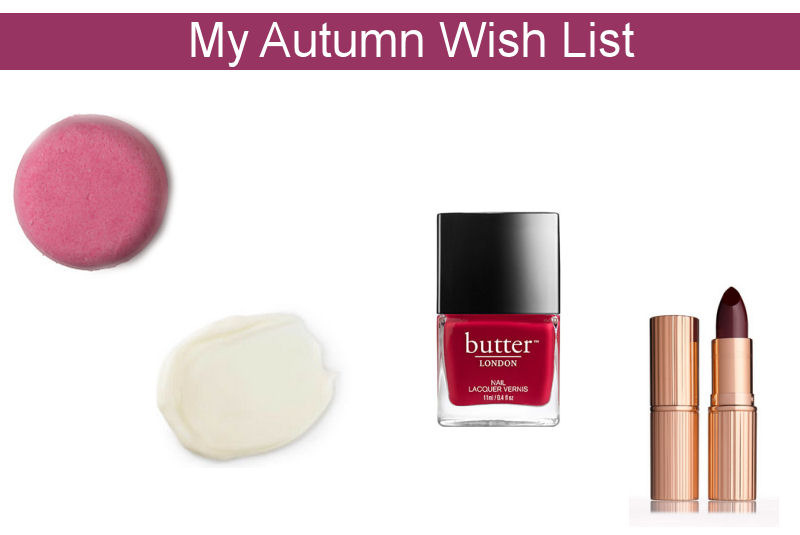 Autumn Wish List