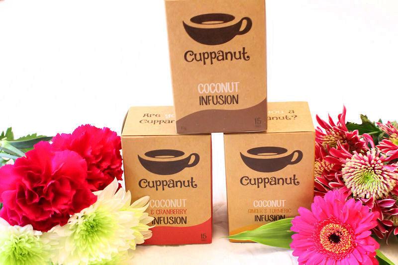 Cuppanut Coconut Tea