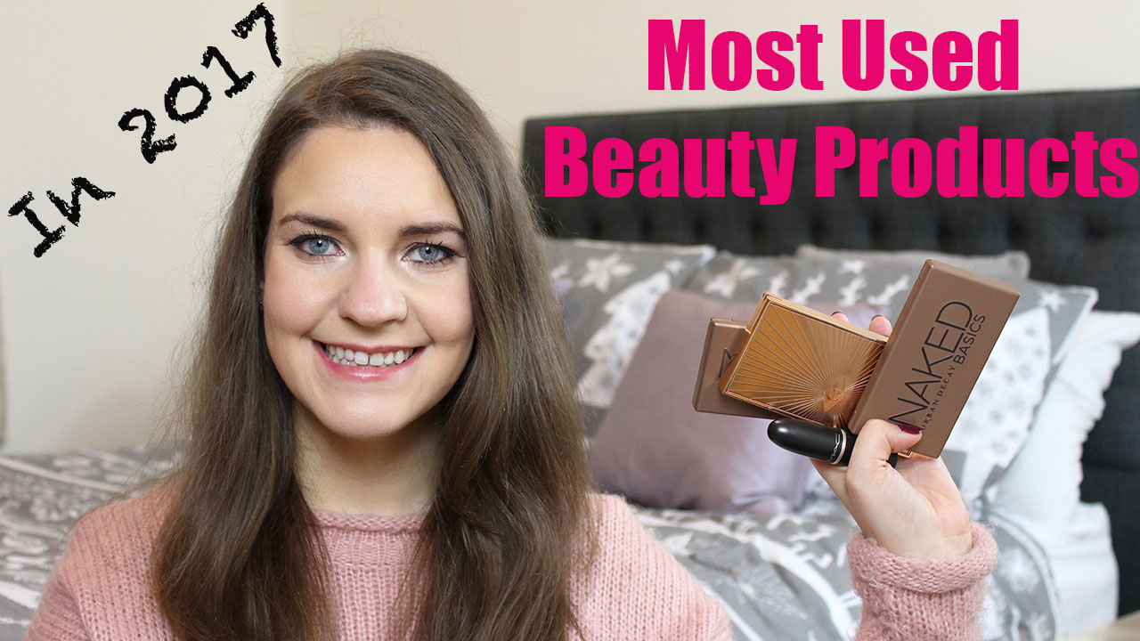 Most Used Beauty Products in 2017
