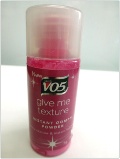 VO5 Give Me Texture Instant Oomph Powder