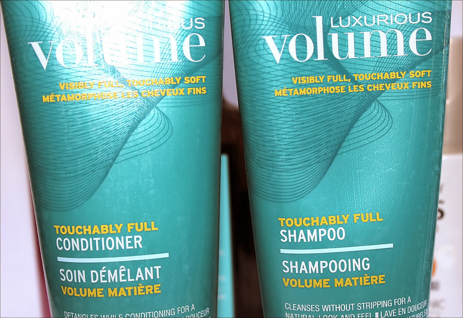 John Freida Volume shampoo and conditioner