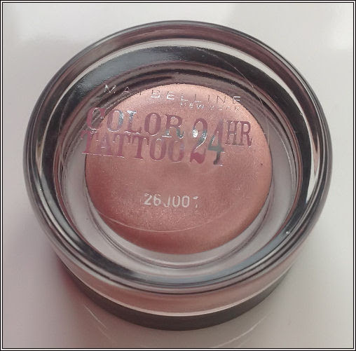 Maybelline Color Tattoo Review // Pink Gold