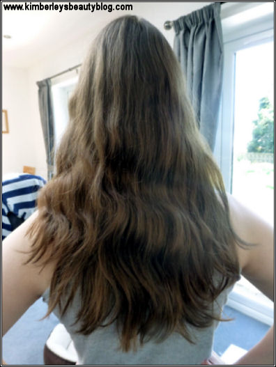 My natural hair with no extensions