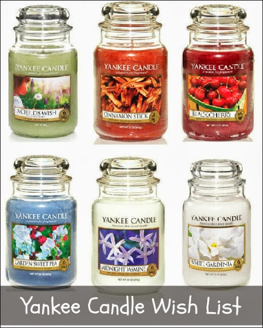 Yankee Candle Wish List