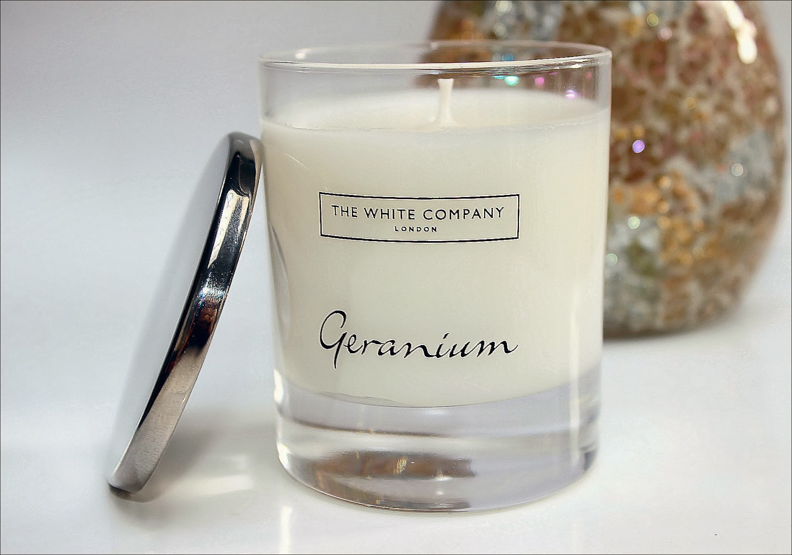 The White Company Geranium Candle