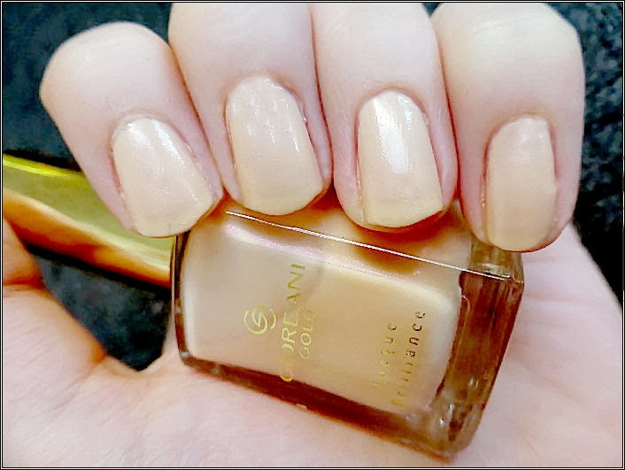 Oriflame Giordani Gold Lacque Brilliance Pearly Nude Nail Polish