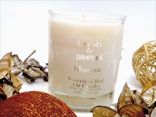 Bubbs and Dimples Blossom Candle