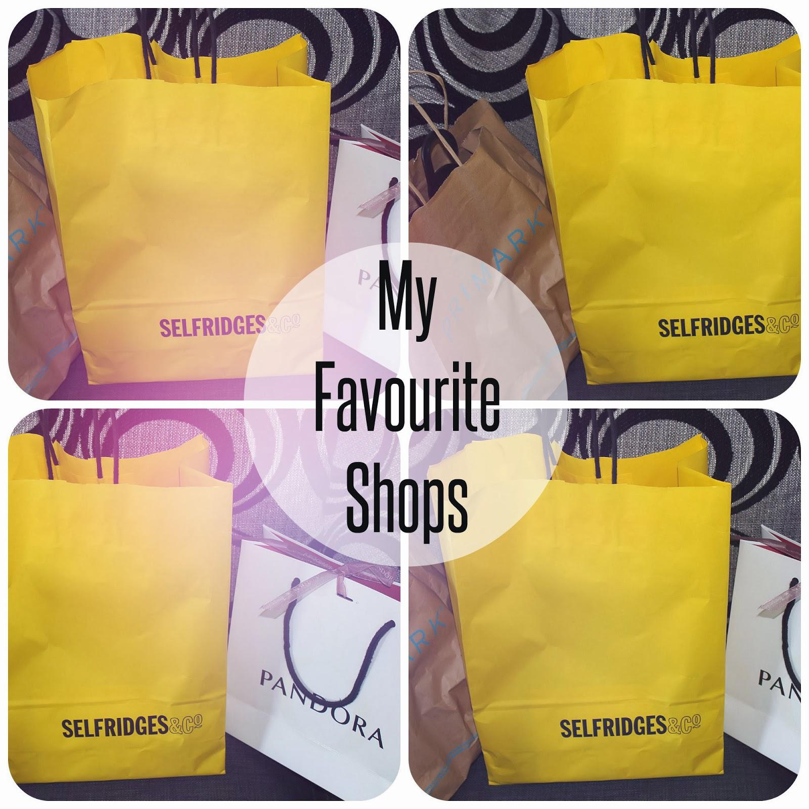 Favourite shops