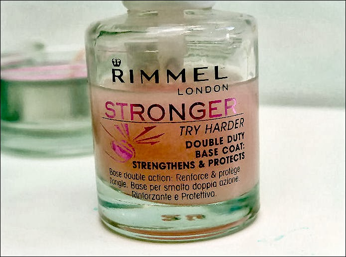 Rimmel Stronger Base Coat Nail Polish