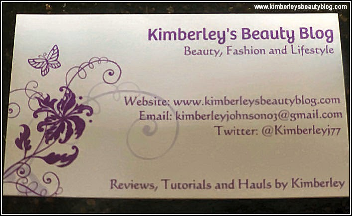 Beauty Blog Business Cards