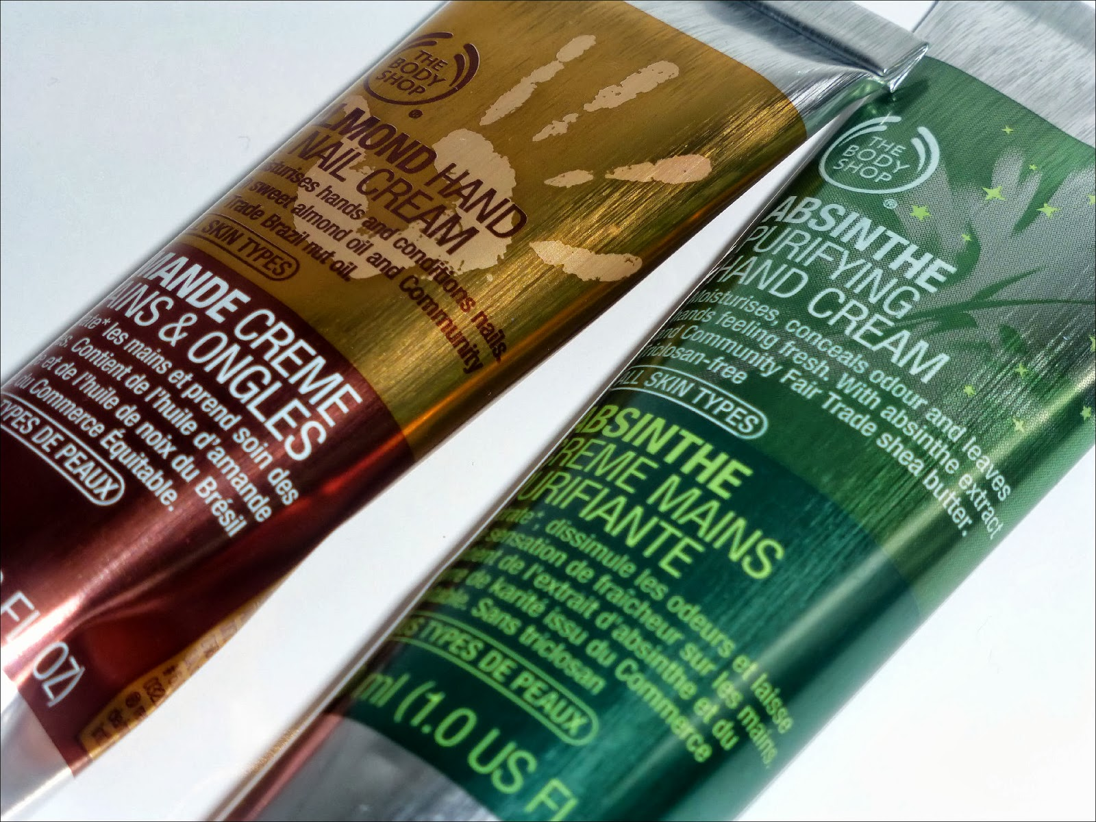 The Body Shop Hand Creams