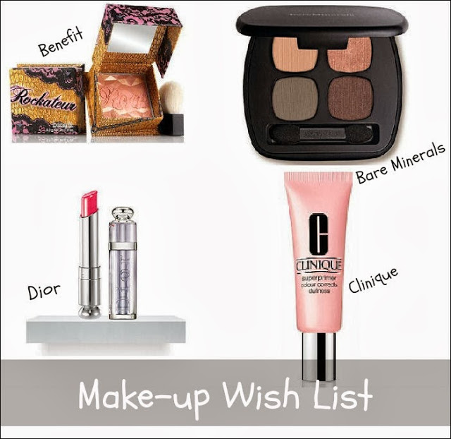 High End Make-up Wish List