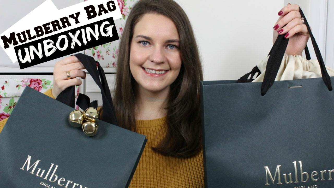 Mulberry bag unboxing