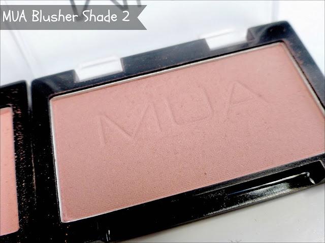 MUA Shade 2 blusher