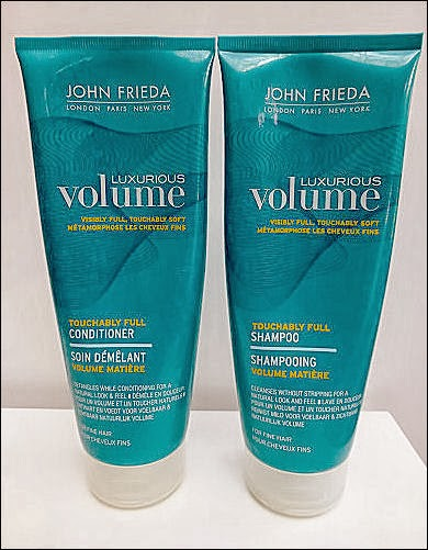 John Freida Luxurious Volume Thickening Shampoo and Conditioner Review