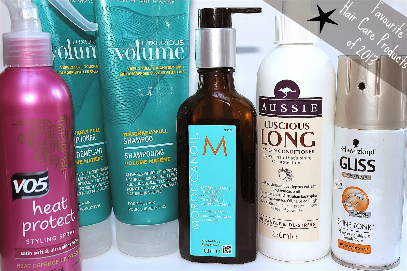 Favourite 2013 Hair Care Products