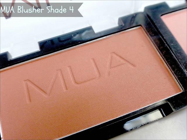 MUA Shade 4 blusher